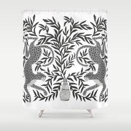 Jaguar Dance Shower Curtain