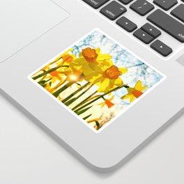 intence yellow Sticker