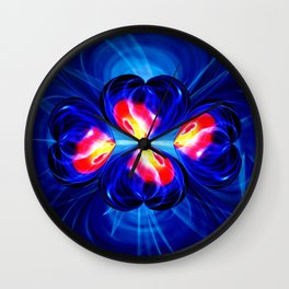 Abstract in pefection 111 Wall Clock