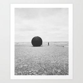 Winter Station 2015 Art Print
