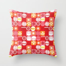 lions and lambs-oh my! Throw Pillow