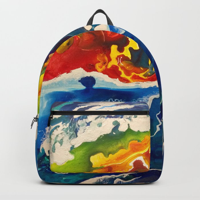 Deep Sea Rainbow Backpack