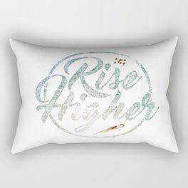 Rise Higher Shooting Star Rectangular Pillow