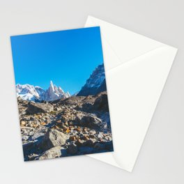Hiking to Laguna Torre, Patagonia, Argentina 2 Stationery Cards
