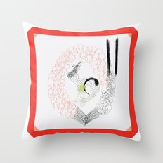 Ethernal Catharsis Throw Pillow