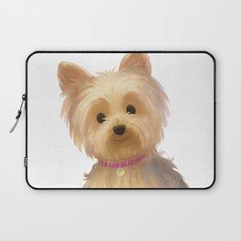 Yorkie Dog Laptop Sleeve