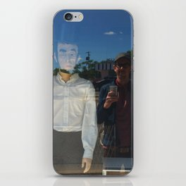the adventures of Ghost Abe and me in Damnville iPhone Skin