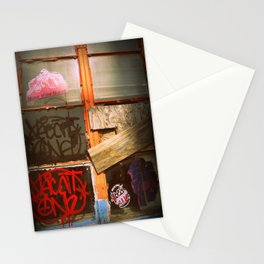 The bored Window Stationery Cards