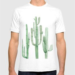 Three Amigos White + Green by Nature Magick T-shirt