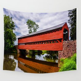 Sachs Covered Bridge Wall Tapestry
