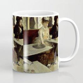 "Edgar Degas ""The Absinthe Drinker (Au Café, l'Absinthe)"" Coffee Mug"