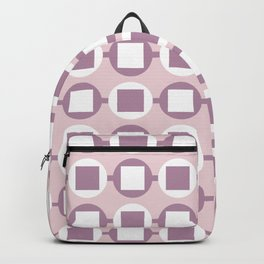 Candy Sweets Pink Champagne Pattern Backpack
