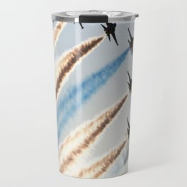 airshow aircraft sky Travel Mug