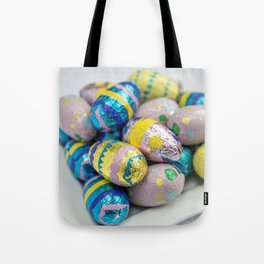 Easter Plate X Tote Bag
