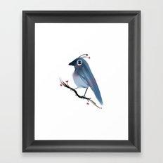 Happy Bird Framed Art Print