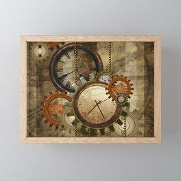 Steampunk, wonderful noble design  Framed Mini Art Print