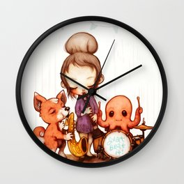 Jam Band  Wall Clock