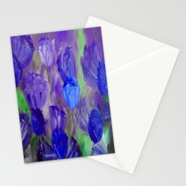 Breaking Dawn in Shades of Deep Blue and Purple Stationery Cards