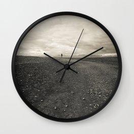 All Who Wander Wall Clock