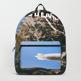 Hollywood Sign and Blimp Backpack