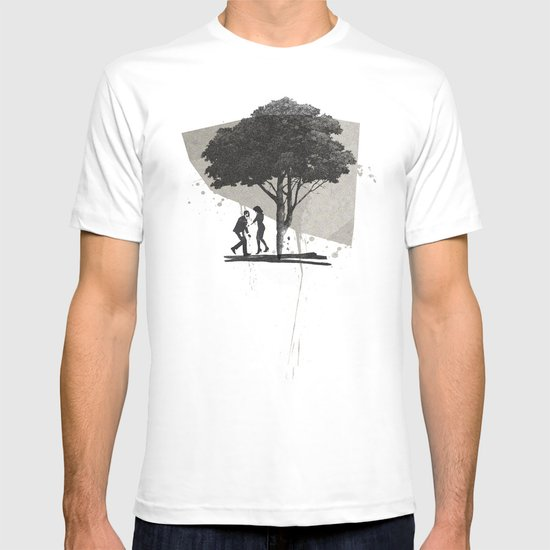(Down By The) Family Tree   Collage T-shirt