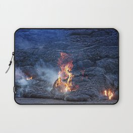 Kilauea Volcano Lava Flow. 5 Laptop Sleeve