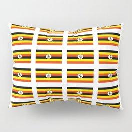 Flag of Uganda – Ugandan,ugandes,Kampala,Kyoga,Turkana. Pillow Sham