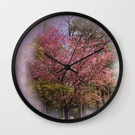 pink summerfeelings Wall Clock
