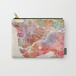 Vancouver map Carry-All Pouch