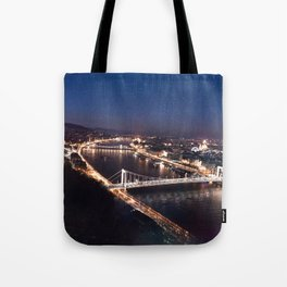 NIGHT TIME IN BUDAPEST Tote Bag