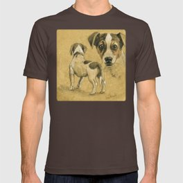 Jack Russel terrier SK080 T-shirt