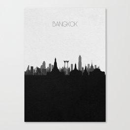 City Skylines: Bangkok Canvas Print