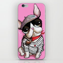 French Bulldog Sailor iPhone Skin