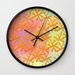Goldflakes ... Wall Clock