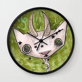 """Oro?"" Capricorn Wall Clock"