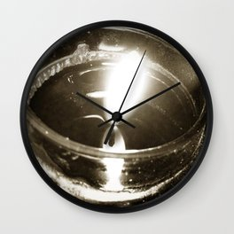 Candlelight Wall Clock