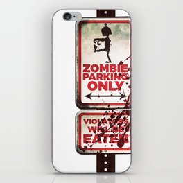 Zombie Parking only iPhone Skin