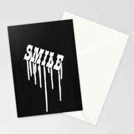 Dripping Smile Stationery Cards
