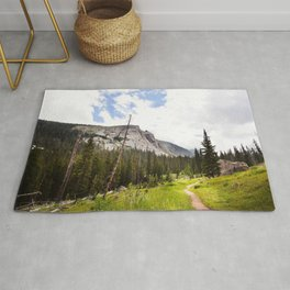 Into The Mountains Rug