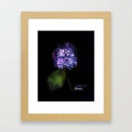 Grow In Grace Framed Art Print