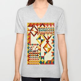 Playing puzzle Unisex V-Neck