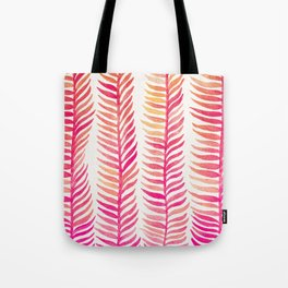 Pink Ombré Seaweed Tote Bag