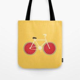 watermelon bike Tote Bag