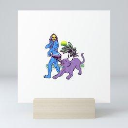 Skeletone Mini Art Print