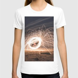 Woolspinning at the Beach T-shirt