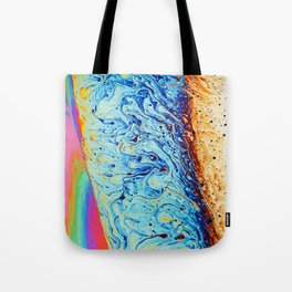 Psychedelic Abstract Tote Bag