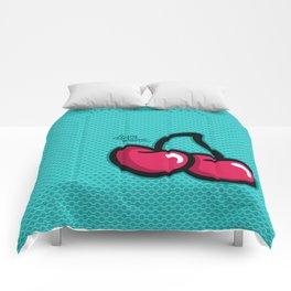 Cherries - Laura Wayne Design Comforters