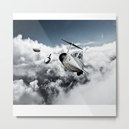F-104 Starfighter Metal Print