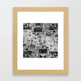 flat Framed Art Print