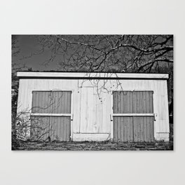 Back of the Chicken Coop Canvas Print